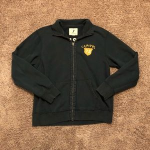 J. Crew Men's Vintage Zip Up Fleece